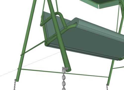 ancrages au sol pour les quipements de jeux ext rieurs. Black Bedroom Furniture Sets. Home Design Ideas