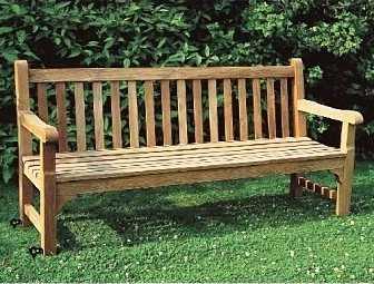 comment fixer un banc de parc or banc de jardin au sol. Black Bedroom Furniture Sets. Home Design Ideas